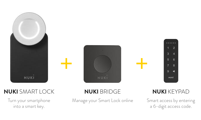 nuki smartlock bridge keypad