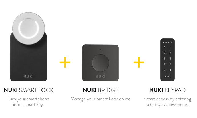 nuki smartlock bridge keypad