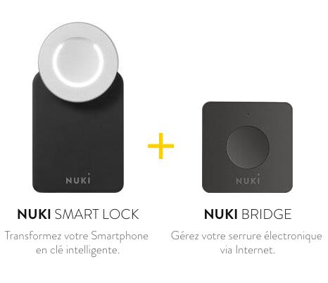 nuki smart lock et bridge