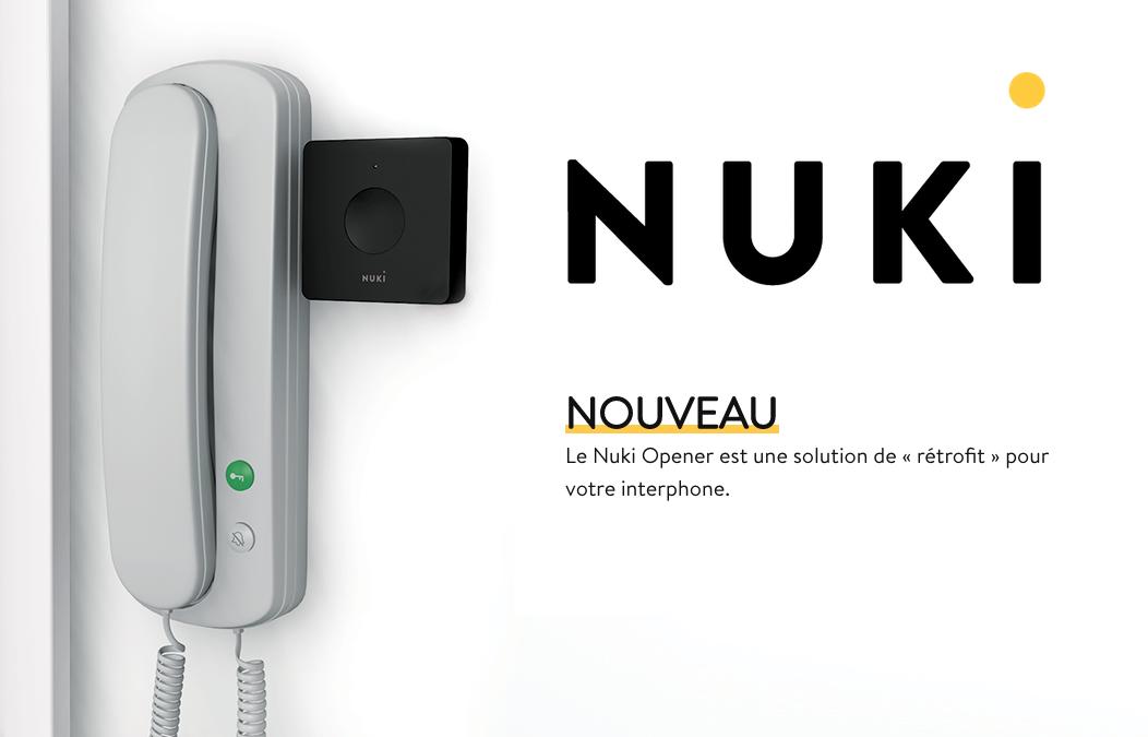 Nuki Opener : ouverture des portes d'immeuble à distance