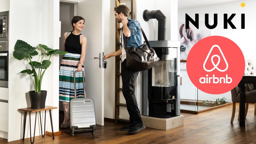 la serrure connectée pour Airbnb