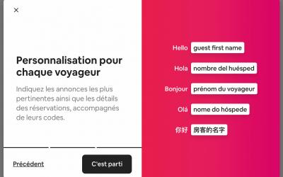 Messages automatiques Airbnb : enfin !
